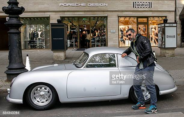 German actor Erdal Yildiz during presentation of the Porsche Design Timepieces '1919 Datetimer Eternity Black Edition' on May 25 2016 in Berlin...