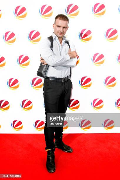 German actor Eric Stehfest attends the SAT1 Fiction photo call on September 26 2018 in Hamburg Germany