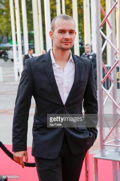 German actor Eric Stehfest attends the UFA 100th anniversary celebration at Palais am Funkturm on September 15 2017 in Berlin Germany