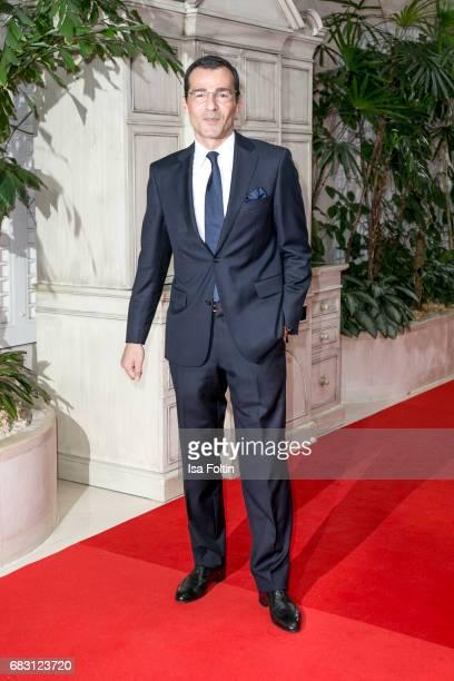 German actor Erol Sander attends the Felix Burda Award 2017 at Hotel Adlon on May 14, 2017 in Berlin, Germany.