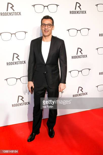 German actor Erol Sander during the Rodenstock Eyewear Show 'A New Vision of Style' at Isarforum on January 24 2019 in Munich Germany