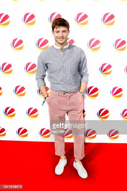 German actor Eugen Bauder attends the SAT1 Fiction photo call on September 26 2018 in Hamburg Germany