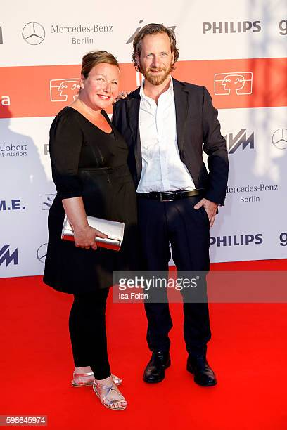German actor Fabian Busch and his wife Sunny Busch attend the IFA 2016 opening gala on September 1, 2016 in Berlin, Germany.