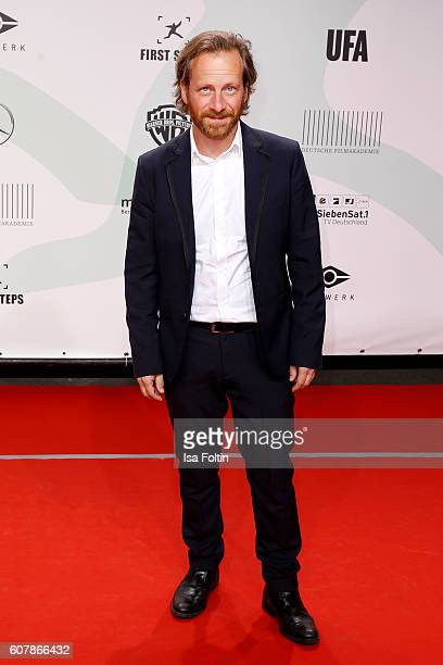 German actor Fabian Busch attends the First Steps Awards 2016 at Stage Theater on September 19, 2016 in Berlin, Germany.