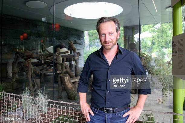 German actor Fabian Busch during the 175th anniversary of Berlin Zoological Garden on August 9, 2019 in Berlin, Germany.