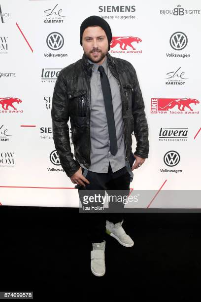 German actor Felix von Jascheroff attends the New Faces Award Style 2017 at The Grand on November 15 2017 in Berlin Germany