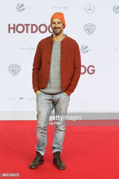 German actor Florian David Fitz attends the 'Hot Dog' world premiere at CineStar on January 9 2018 in Berlin Germany
