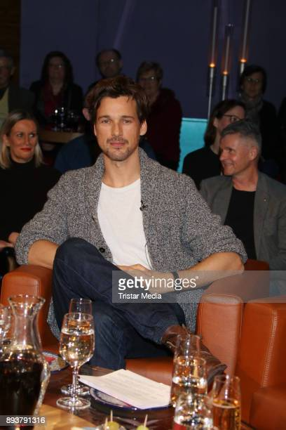 German actor Florian David Fitz during thr NDR Talk Show on December 15 2017 in Hamburg Germany