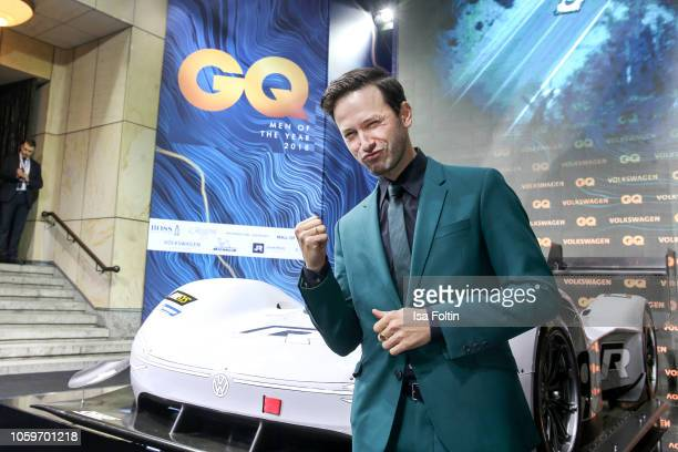 German actor Franz Dinda arrives for the 20th GQ Men of the Year Award at Komische Oper on November 8 2018 in Berlin Germany