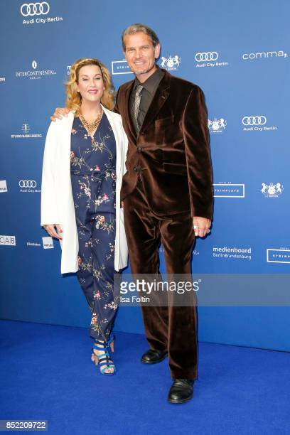 German actor Goetz Otto and his wife Sabine Otto during the 6th German Actor Award Ceremony at Zoo Palast on September 22 2017 in Berlin Germany