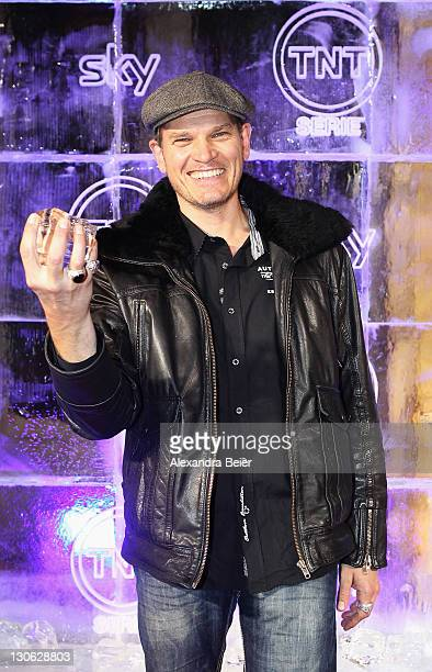 German actor Goetz Otto attends 'Games of Thrones' Preview Event of TNT Serie and Sky at Hotel Bayerischer Hof on October 27, 2011 in Munich,...