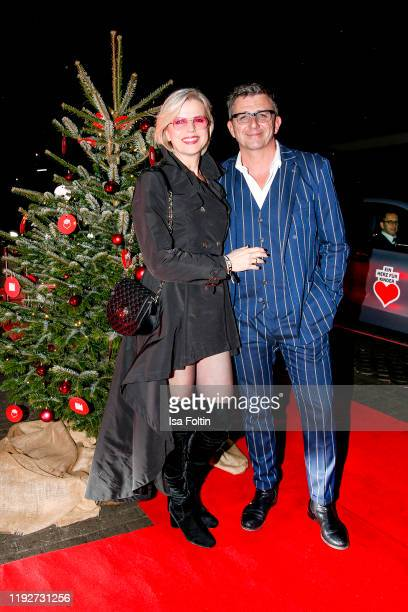 German actor Hans Sigl and his wife Susanne Sigl during the Daimlers BE A MOVER event at Ein Herz Fuer Kinder Gala at Studio Berlin Adlershof on...