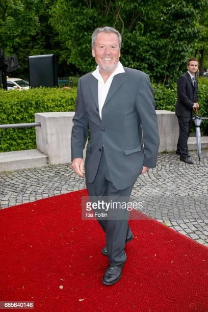 German actor Hansi Kraus attends the Bayerischer Fernsehpreis 2017 at Prinzregententheater on May 19 2017 in Munich Germany