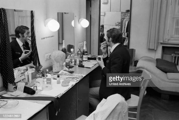 German actor Harald Juhnke at Kleine Komoedie theatre Germany 1960s