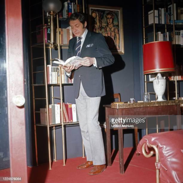 German actor Harald Juhnke Germany 1960s
