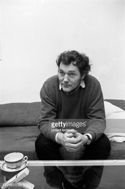 German actor Harald Leipnitz, Germany, 1960s.