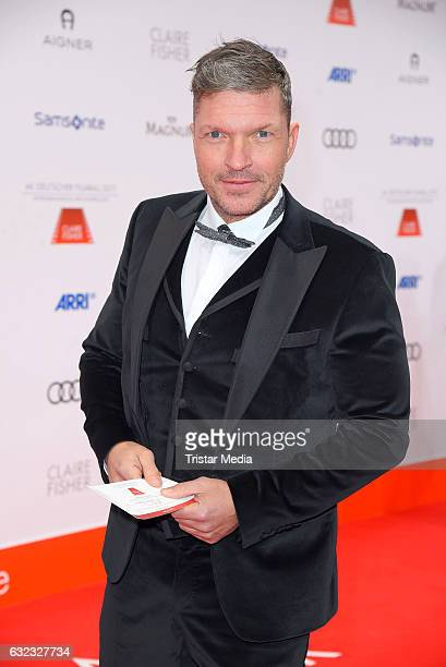 German actor Hardy Krueger Jr attends the German Film Ball 2017 at Hotel Bayerischer Hof on January 21 2017 in Munich Germany
