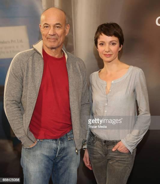 German actor Heiner Lauterbach and german actress Julia Koschitz attend the 'Perfect Easter Table' in favor of the Heinz Hoenig CharityOrganisation...