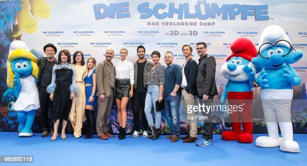 German actor Heiner Lauterbach german actress Iris Berbengerman actress Nora Tschirner influencer and youtubestar Bianca Heinicke alias Bibi german...