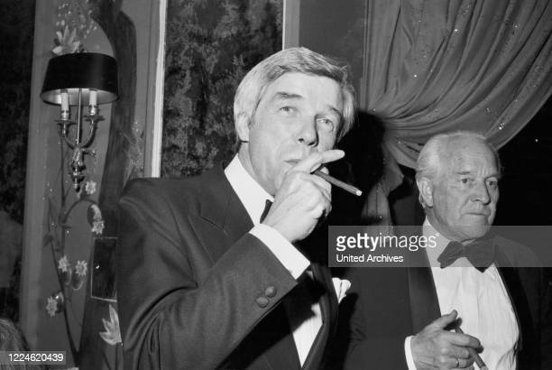 German actor Heinz Drache at the Deutscher Filmball on January 16th 1976 at Munich Germany 1970s
