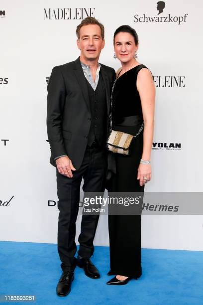 German actor Jan Sosniok and his wife Nadine Moellers during the Tribute To Bambi at Casino BadenBaden on November 20 2019 in BadenBaden Germany