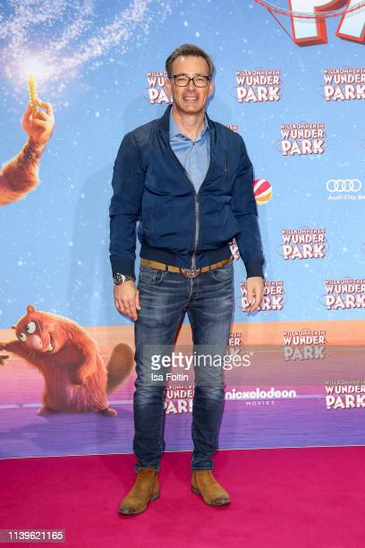 German actor Jan Sosniok attends the Willkommen im Wunder Park premiere at Kino in der Kulturbrauerei on March 31 2019 in Berlin Germany