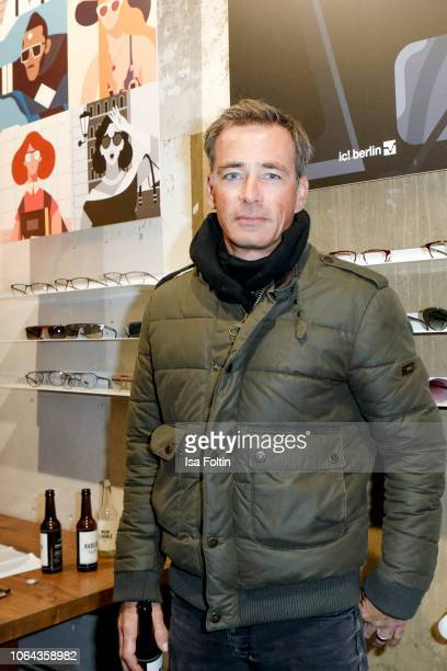 German actor Jan Sosniok during the ic Berlin Launch Event on November 22 2018 in Berlin Germany