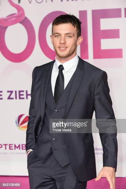 German actor Jannis Niewoehner attends the 'High Society' Premiere at CineStar on September 5 2017 in Berlin Germany