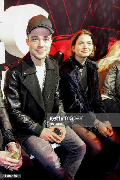 German actor Jascha Rust and Nina Kaiser attend the New Faces Award Film at Umspannwerk Alexanderplatz on May 2, 2019 in Berlin, Germany.
