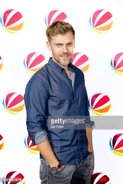 German actor Jens Atzorn attends the SAT1 Fiction photo call on September 26 2018 in Hamburg Germany