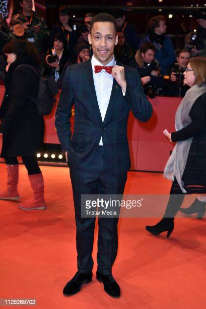 German actor Jerry Hoffmann arrives for the closing ceremony of the 69th Berlinale International Film Festival Berlin at Berlinale Palace on February...