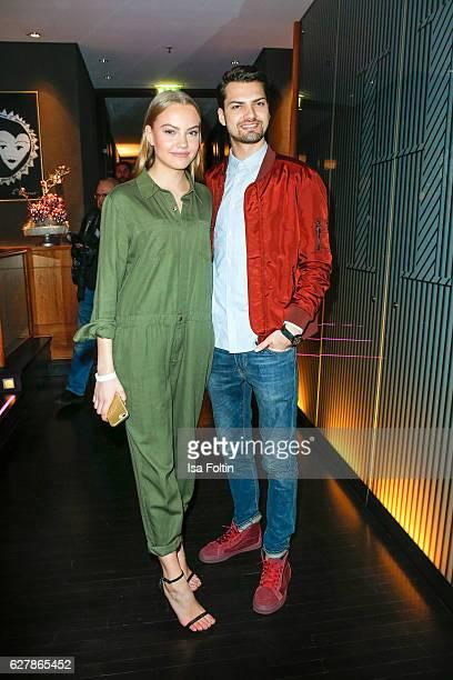 German actor Jimi Blue Ochsenknecht and his sister model Cheyenne Savannah Ochsenknecht attend the 1st Anniversary Celebration Of Berlin Blonds on...