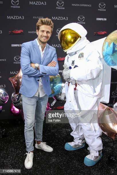 German actor Joern Schloenvoigt attends the Mazda Spring Cocktail at Sony Centre on May 23, 2019 in Berlin, Germany.
