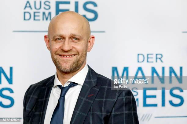 German actor Juergen Vogel attends the premiere of 'Der Mann aus dem Eis' at Zoo Palast on November 21 2017 in Berlin Germany