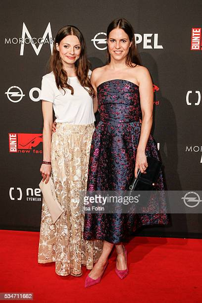 German actor Julia Hartmann and german actor Birthe Wolter attend the New Faces Award Film 2016 at ewerk on May 26 2016 in Berlin Germany