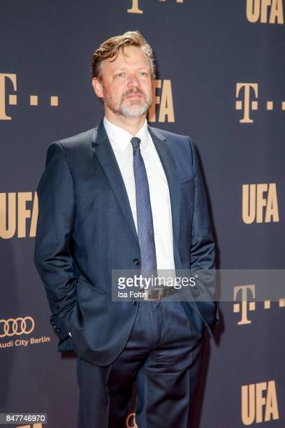 German actor Justus von Dohnanyi attends the UFA 100th anniversary celebration at Palais am Funkturm on September 15 2017 in Berlin Germany