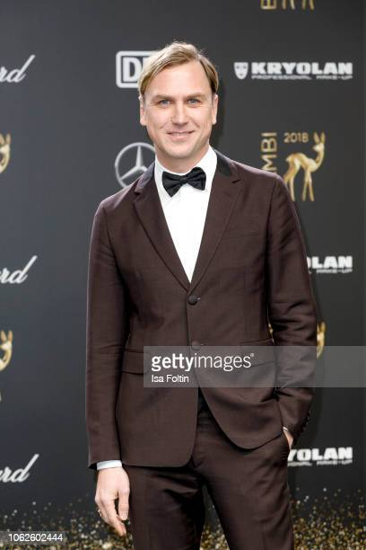 German actor Lars Eidinger attends the 70th Bambi Awards at Stage Theater on November 16 2018 in Berlin Germany