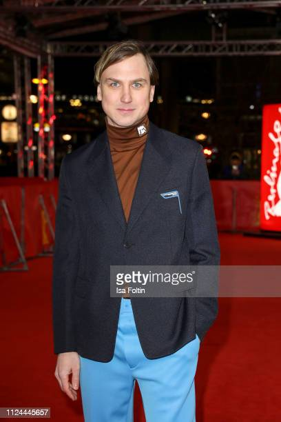 German actor Lars Eidinger attends the M Eine Stadt sucht einen Moerder premiere during the 69th Berlinale International Film Festival Berlin at Zoo...