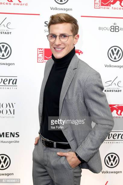 German actor Lukas Sauer attends the New Faces Award Style 2017 at The Grand on November 15 2017 in Berlin Germany