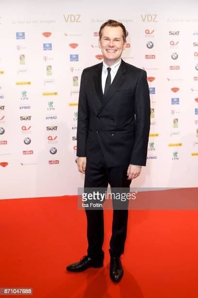 German actor Malte Arkona during the VDZ Publishers' Night at Deutsche Telekom's representative office on November 6 2017 in Berlin Germany