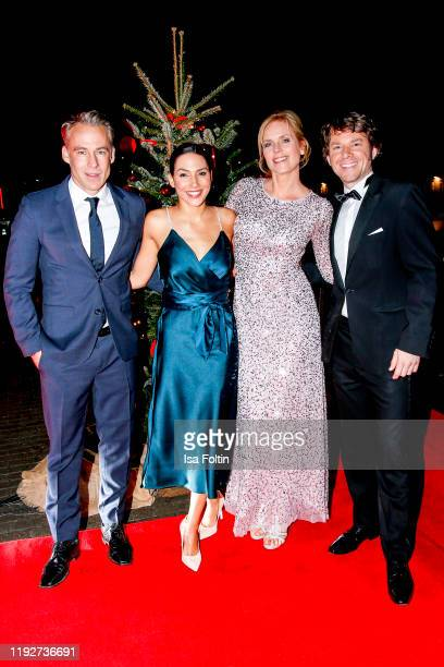 German actor Marco Girnth German actress Amy Mussul German actress Melanie Marschke and German actor Steffen Schroeder during the Daimlers BE A MOVER...