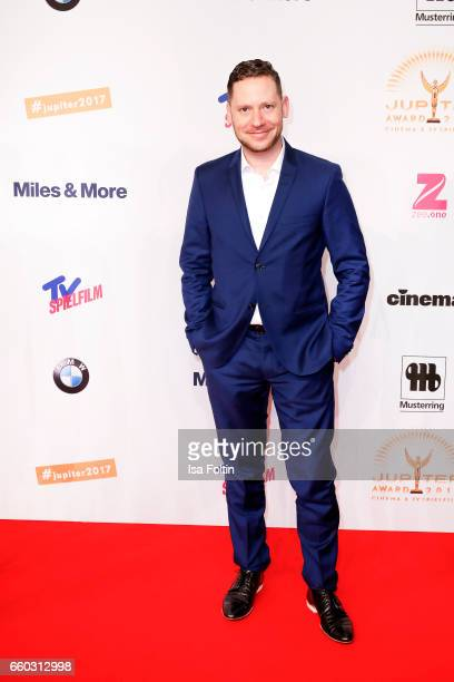 German actor Marco Kreuzpaintner attends the Jupiter Award at Cafe Moskau on March 29 2017 in Berlin Germany