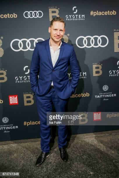 German actor Marco Kreuzpaintner attends the Place To Be Party after the Lola German Film Award on April 28 2017 in Berlin Germany