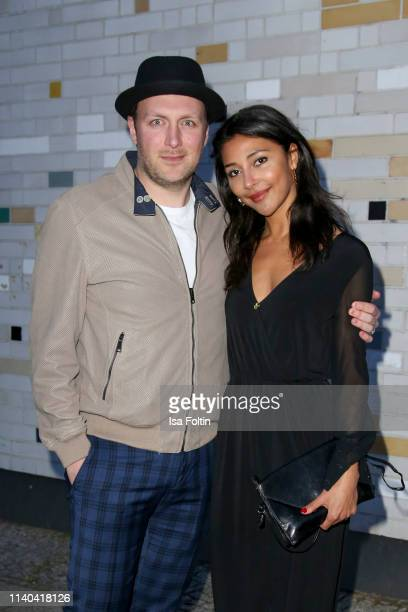 German actor Martin Stange and German actress Sulaika Lindemann attend the annual Young Icons Award at Kosmos on April 30 2019 in Berlin Germany
