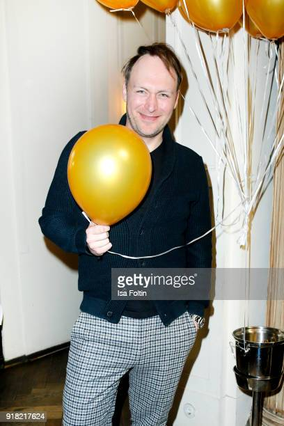 German actor Martin Stange attends the Blaue Blume Awards 2018 at Grosz on February 14 2018 in Berlin Germany