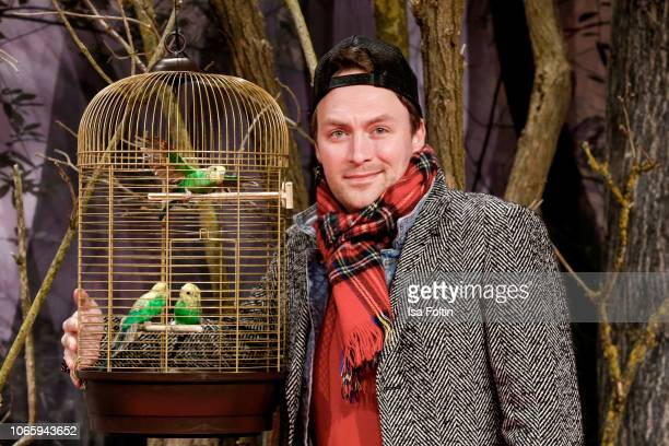 German actor Martin Stange attends the European premiere of the film 'Bird Box' at Zoo Palast on November 27 2018 in Berlin Germany