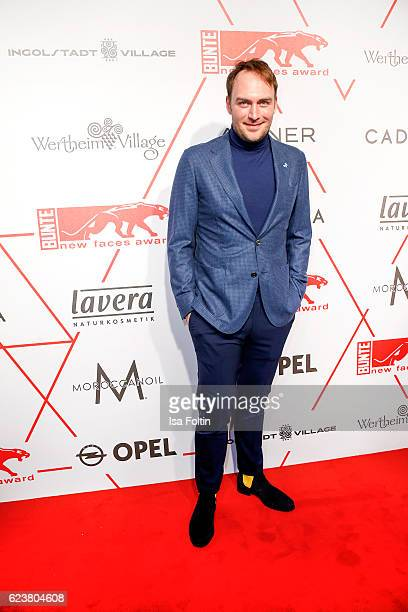 German actor Martin Stange attends the New Faces Award Style on November 16 2016 in Berlin Germany