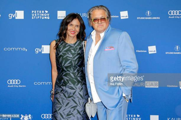 German actor Michael Brandner and his wife Karin Brandner during the 6th German Actor Award Ceremony at Zoo Palast on September 22 2017 in Berlin...