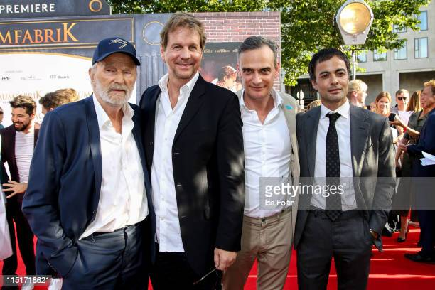 "German actor Michael Gwisdek, German actor Thomas Heinze, German actor Anatole Taubman and German actor Nikolai Kinski attend the ""Traumfabrik"" Movie..."