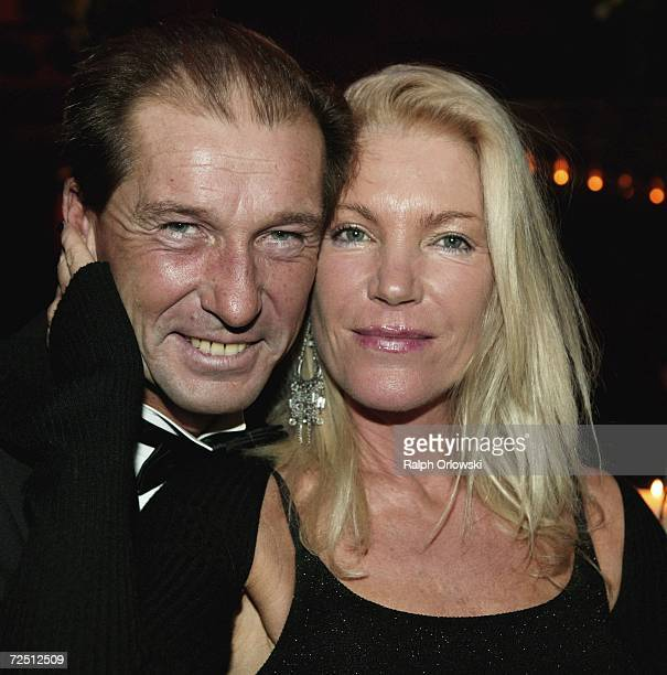 German actor Michael Lesch and his wife Christina Keiler-Lesch attend the Deutscher Sportpresseball on November 11, 2006 in Frankfurt, Germany.
